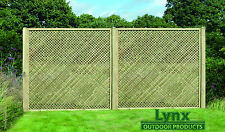 Tanalised! Privacy! Lattice! 180cm x 183cm (PL13) Fencing panel! / Trellis!