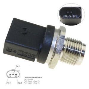 DIESEL Fuel Rail High Pressure Sensor For BMW 1 3 E81 E60 530D 520D 0281002868