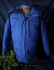 Nice Blue & Black COLUMBIA Down Jacket Sz 18/20