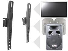 Universal Boxen Lautsprecher Heimkino Halterung Halter Befestigung kippbar S88N