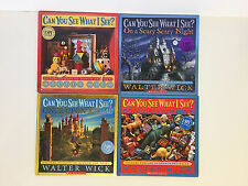Lot of 4 Can You See What I See? Walter Wick Picture Puzzle Books