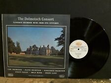 DOLMETSCH CONSORT Favourite Recorder Music   LP   NEAR-MINT !!