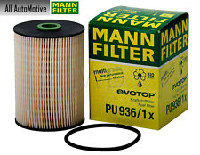 Fuel Filter fits VW Diesel TDI Beetle Golf Jetta 10-14 MANN PU936/1X 1K0127434B