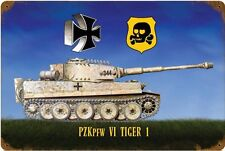 PZK PFW VI Tiger 1 Metal Sign