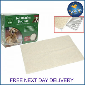 NEW Crufts Self Heating Pet Blanket Pad Ideal for Cat/Dog Bed Medium