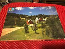 Vintage Milton Bradley Oxford 750 Piece Jigsaw Puzzle Vermont  sealed in box.