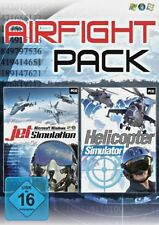 Airfight Pack - Jet Helicopter Flugzeug Hubschrauber Simulator für Pc Neu/Ovp