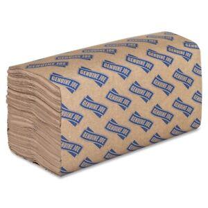 Genuine Joe Single-fold Paper Towel - 1 Ply - 250 Per Pack - 4000 / Carton -