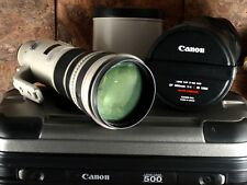Canon EF 500mm f/4 L IS USM Lens - Flawess Glass