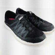 Skechers On TheGo Black Sneckers 8 Shoes