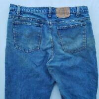 Levi's Men's Jeans Size 36 Cotton Blue 405090214 Work Distressed
