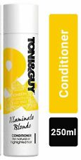 3 x Toni&Guy Illuminate Blonde Conditioner for Highlighted Hair - 250ml