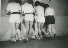 France, Dancing Class Vintage silver print Tirage argentique  13x18  Circa