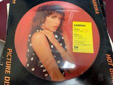 "Sabrina Hot Girl Kiss Me Picture Disc 12"" 1987 Five Fm 313821"