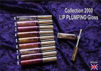 Collection 2000 LIP PLUMPING gloss 1 2 3 4 5 6 7 8 9  lipgloss CHOICE of shade
