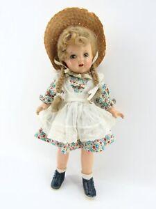 1937 Composition Madame Alexander McGuffey Ana Doll w/Princess Elizabeth Mold
