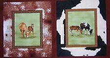 "23"" Fabric Panel - Troy Riverwoods Horsin' Around Horse Pillowcase Brown"