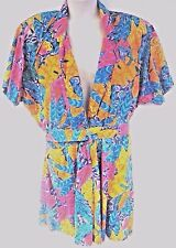 Adrian Jordan Women's Dress Multi Color Floral Plus Size 22/24W 3X XXXL