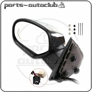 Driver Side Power Fold Memory Heated Chrome Signal Mirror For 07-14 Chevy GMC