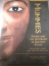 Mummies Death & Afterlife Ancient Egypt British Museum Hieroglyphs Art BOOK