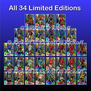 Panini Adrenalyn XL 2020-2021 • ALL 34 LIMITED EDITIONS plus ELITE • ULTRA etc.