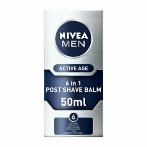 Nivea Men Active Age 6 in 1 Post Shave Balm 75ml