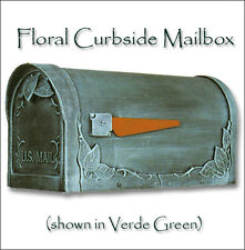 Special Lite Floral Curbside Mailbox Rust Free & Powder Coated 14 Color Choices