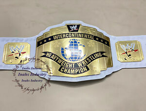WWE Intercontinental Heavyweight Wrestling Championship Belt White Starp