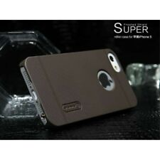 Brown Nillkin for iPhone 5  5S Super Frosted Shield Hard Case + Screen Protector