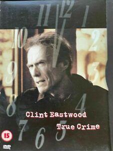 True Crime DVD Clint Eastwood Movie Denis Leary, James Woods - REGION 2 SNAPCASE