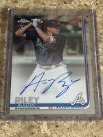 Austin Riley 2019 Topps Chrome Auto Autograph Rookie RC Atlanta Braves