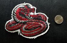 Vtg Kung Fu Cobra Snake Tae Kwon Do Karate Martial Arts Uniform Collectors Patch