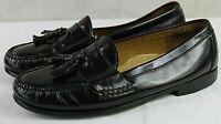 COLE HAAN mens slip-on dress tassel loafers shoe size 10 D leather upper brown