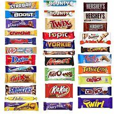 Huge 21 Bar Chocolate Gift Cadbury Nestle Multi Selected Chocolate Bars Gift