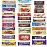 Huge 21 Bar Chocolate Gift Cadbury Nestle Multi Selected Chocolate Bars Gift