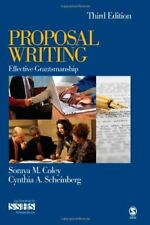 Proposal Writing: Effective Grantsmanship by Scheinberg and Coley, 3rd Edition