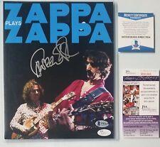 DWEEZIL ZAPPA SIGNED PHOTO BECKETT BAS JSA COA AUTOGRAPHED ROCK MUSIC SINGER