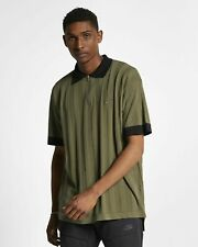 Nike Lab Men's Short Sleeve Knit Polo Shirt Green Small S Made in Italy BV0974