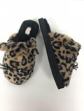 Kate Spade Women's Belindy Cat Slippers Leopard Print Size 6 $78