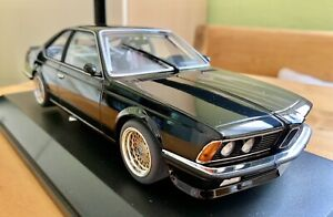 BMW 635 CSI Plain Body Black Minichamps in OVP 1:18 Coupé 6er E24 M3 M5