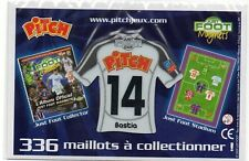 MAGNET MAILLOT FOOTBALL PITCH ~ CDF ~ 14 ~ BASTIA ~ JUST FOOT 2009