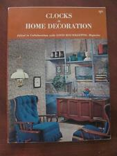 1965 Clocks In Home Decoration Catalog WESTCLOX/Good Housekeeping Magazine Edits