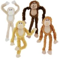 "18"" Plush Hanging Monkey STUFFED ANIMAL monkeys SOFT HANDS toy GIFT new"
