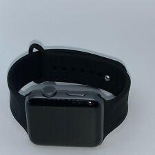 Apple Watch Series 2 42mm Aluminium Case Black Sport Band - (MP062LL/A)