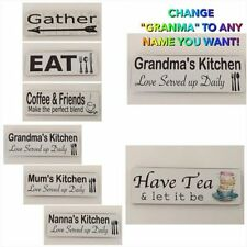Handmade Farmhouse Decorative Plaques & Signs