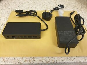 Microsoft Surface Dock 1661 for Surface Pro 3 4 5 6 Surface Book Laptop Inc PSU