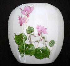 Vintage Otagiri Japan Pink Cyclamen Mantle Vase