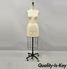 Superior Model Forms Co Model 2002 Iron Cage Dress Form Mannequin Size 8