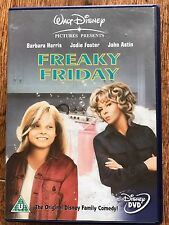 Jodie Foster FREAKY FRIDAY ~ 1976 Original Walt Disney Body Swap Comedy | UK DVD