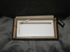 NWT Frye Harness Wallet - Off-White, DB488, Retail $158